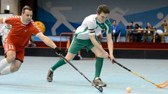 Joseph McCarthy in action for Ireland