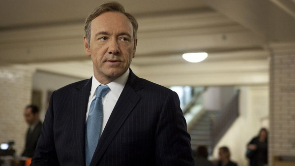 Kevin Spacey returns as President Underwood as House of Cards continues for at least one more season