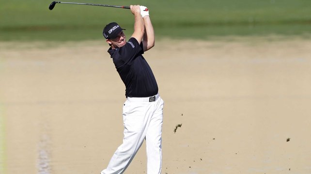 Padraig Harrington carded seven birdies for a seven-under 64
