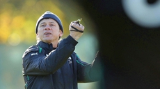 Les Kiss was also part of the Ireland management squad that went into the 2011 Rugby World Cup