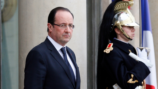 Francois Hollande will be accompanied by several ministers