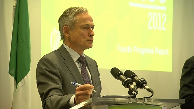 "Minister Richard Bruton wants to link the payment of fees to the ""finalisation"" of cases"