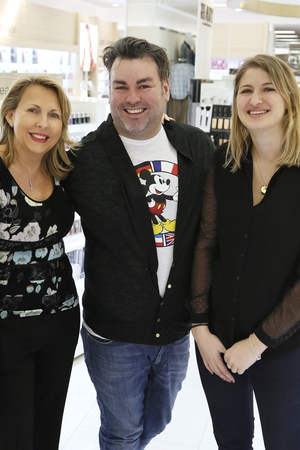 Malvina Fraser, Leonard Daly and Olivia Kaufmann
