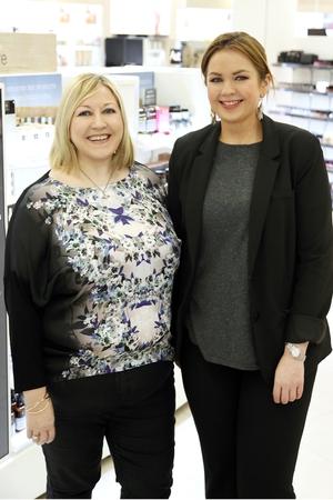 Carmel Breheny and Charlotte Alcock