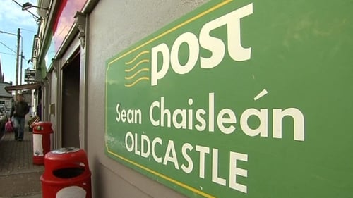 Oldcastle Post Office  in Co Meath