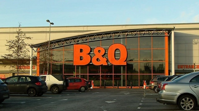 Kingfisher operates as B&Q in Ireland