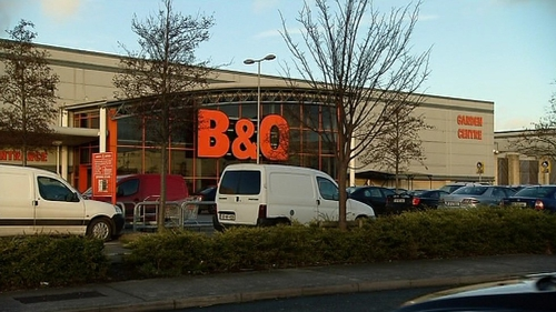 B&Q operates nine outlets in Ireland