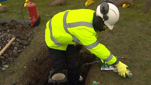 The installation of water meters will begin in Kildare