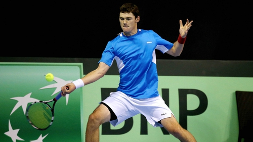 21-year-old Sam Barry was the star of Ireland's Davis Cup team earlier this year