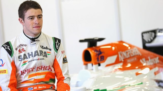 Paul di Resta is wating on a partner for 2013