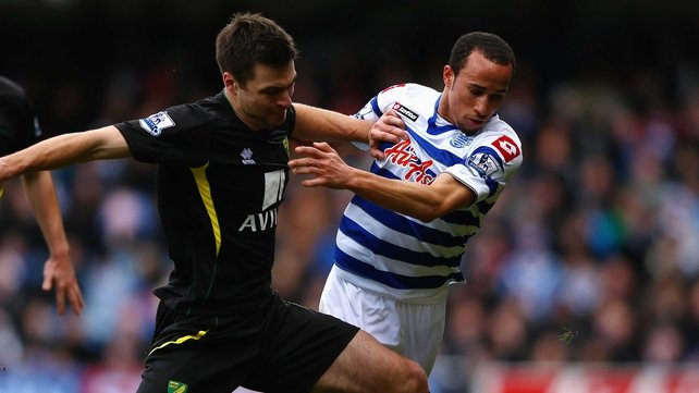 Andros Townsend was one of three debutants for QPR