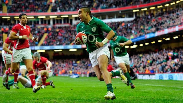 Simon Zebo has been recalled to the Ireland squad
