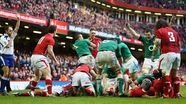 Ruthless efficiency saw Ireland register 30 points in 43 minutes
