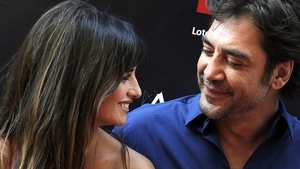 Penélope Cruz and hubby Javier Bardem: busy working together on Bardem's Escobar film project