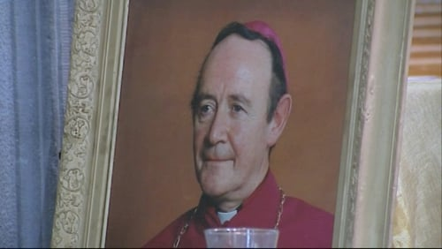 Archbishop of Tuam, Dr Joseph Cassidy was buried in the grounds of Moore Church where he served as Parish Priest