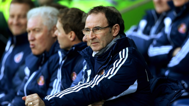 Martin O'Neill looks set to be approached by the FAI