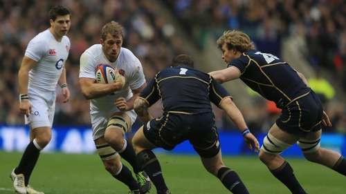 Chris Robshaw led England to a comfortable Calcutta Cup victory at Twickenham