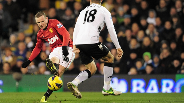 Wayne Rooney looks set to miss Manchester United's clash with QPR