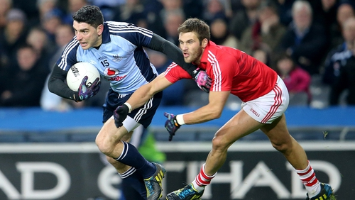 Bernard Brogan hit 0-06 for the Dubs