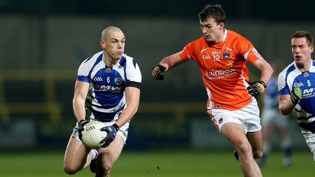 Laois did most of the hard work in the first half against Armagh