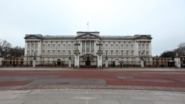 Man was found in the palace late on Monday night