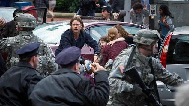 World War Z is released in cinemas on Friday June 21