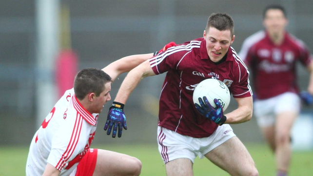 Galway sealed a morale-boosting victory in the Allianz Football League Division 2 against Derry