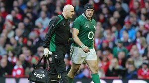 Ireland's Mike Ross suffered severe cramp playing against Wales at Millennium Stadium, but he will take full part in training this week