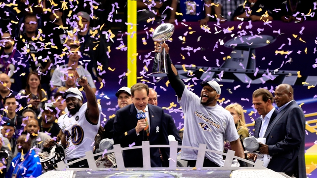 Celebration time for the Ravens