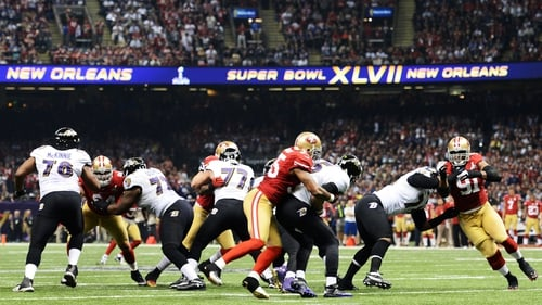 The Baltimore Ravens took on the San Francisco 49ers in Super Bowl XLVII