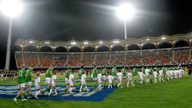 Ireland won the last series in Australia in 2011