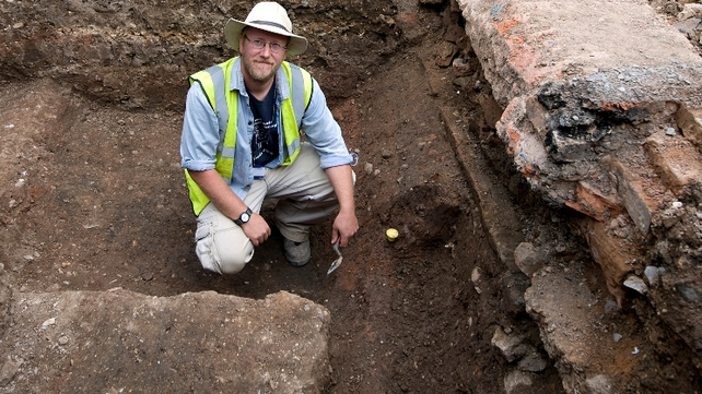 The remains were discovered by archaeologists under a Leicester car park