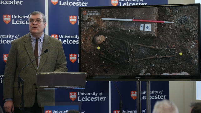 Richard Buckley said the tests proved the remains were the king's 'beyond reasonable doubt'