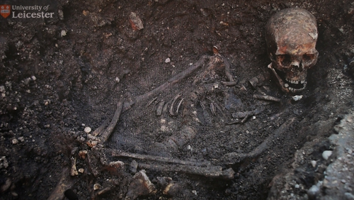 Richard III's bones were found in 2012