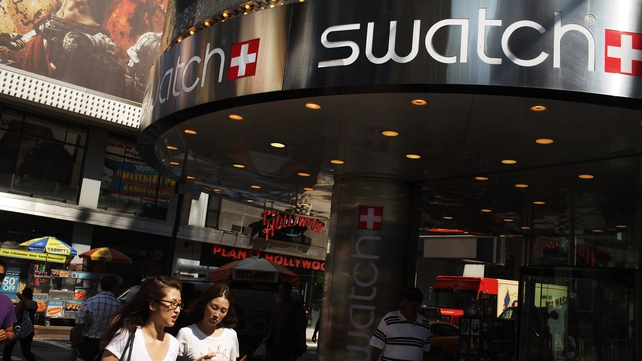 Swatch says it expects long term growth of 5-10% per year in the Swiss watch industry