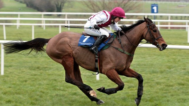 Pat Glynn expects a much improved Seabass at Aintree
