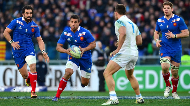 Pascal Pape (R) will miss France's Six Nations clash with Wales