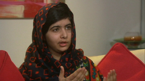 Malala Yousufzai said: 'The thing is my mission is the same, to help people, and I will do that'