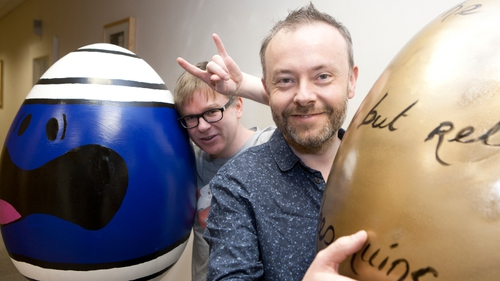 2fm's Cormac Battle and Rick O'Shea have revealed their egg masterpieces