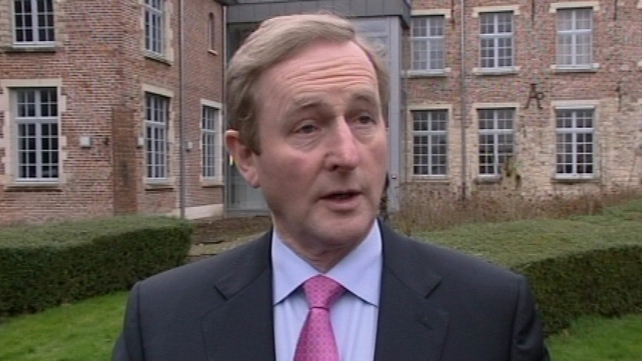 Enda Kenny said personal insolvency guidelines would not apply in all circumstances