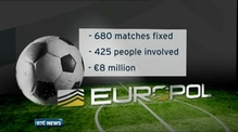 Hundreds of football matches 'fixed'