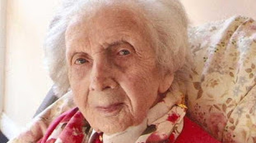 Annie Kett was born in 1905 in The Glen, Co Clare (Pic: kildimonews.blogspot.ie)