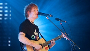 Sheeran debuted a new song in New York last night