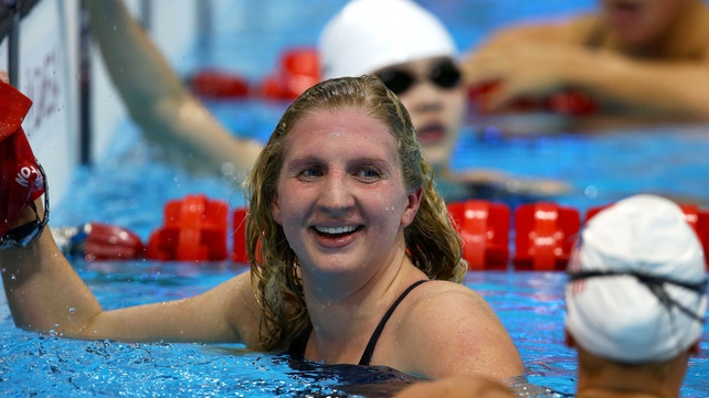 Rebecca Adlington has retired from competitive swimming