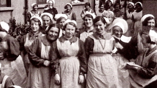 Thousands of women were residents of the laundries during the 20th Century (Pic: IFI)