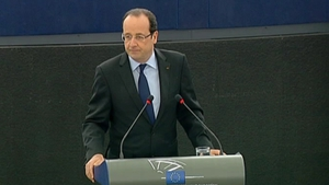 France's Francois Hollande had suggested action was needed to counter the euro's rising value
