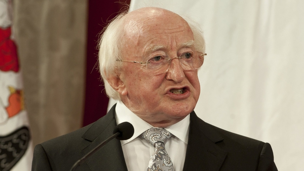 President Higgins gave an address at the Sorbonne