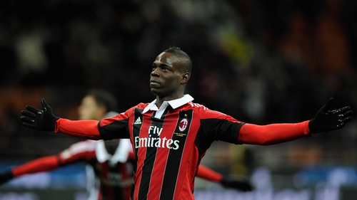 Mario Balotelli joined AC Milan last week and scored twice on his debut