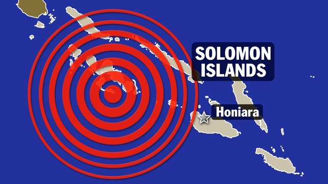 8.0 magnitude earthquake set off a tsunami in a remote part of the Solomon Islands