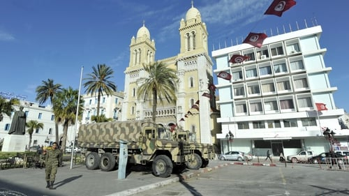 The killing comes as Tunisia struggles with social and religious tensions after its longtime dictator was overthrown two years ago